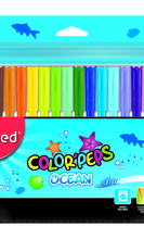 Флумастери MAPED Color'Peps OCEAN, 18 цвята